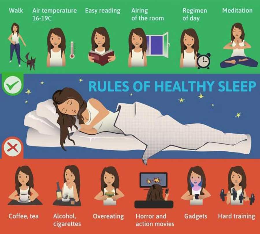 Recomendaciones y productos para dormir bien